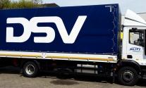 Anhängerbeschriftung für Logistikunternehmen DSV in Ludwigsburg