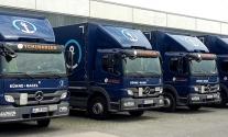 Flottenbeschriftung für unseren Kunden Kühne+Nagel aus Stuttgart