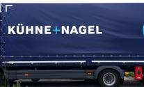 Lkw-Folierung für die Logistikfirma Kühne+Nagel aus Ludwigsburg