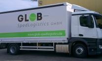 Planenbeschriftung im Folienplott für Glob SpedLogistics aus Stuttgart