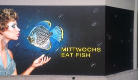 Schaufensterbeschriftung im XXL-Digitaldruck für Cavos aus Stuttgart