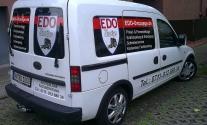 Fahrzeugbeschriftung für die Firma EDO Umzüge aus Waiblingen