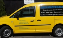Fahrzeugbeschriftung für Lopez Renovierungen aus Ludwigsburg