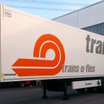 Anhängerbeschriftung für die Firma Trans-o-flex aus Ludwigsburg