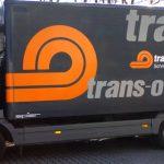 Kastenwagenbeschriftung für die Firma Trans-o-flex aus Ludwigsburg